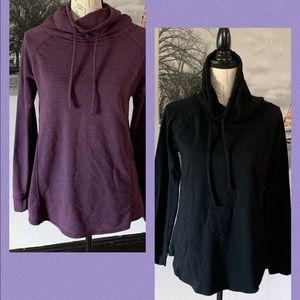 32 degrees woman's hoodies size small cowl neck